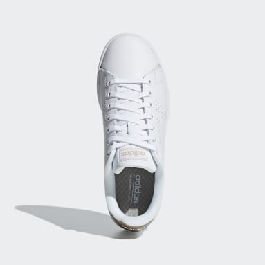 Women's sport_inspired White Advantage Shoes