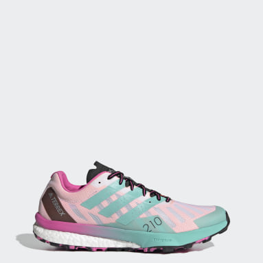 Women TERREX White Terrex Speed Ultra Trail Running Shoes