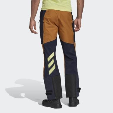 Pantaloni da sci alpinismo Terrex Skyclimb Shield Gore Hybrid Blu Uomo TERREX
