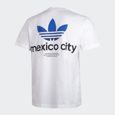 Playera Trifolio Mexico City Blanco Hombre Originals