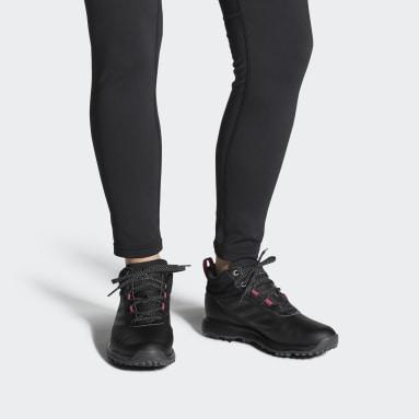 Women's Golf Black S2G Mid-Cut Golf Shoes