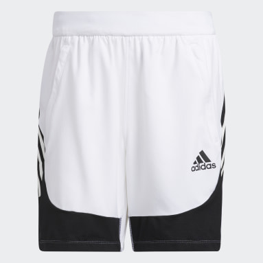 Short AEROREADY 3-Stripes Slim Blanc Hommes Fitness Et Training