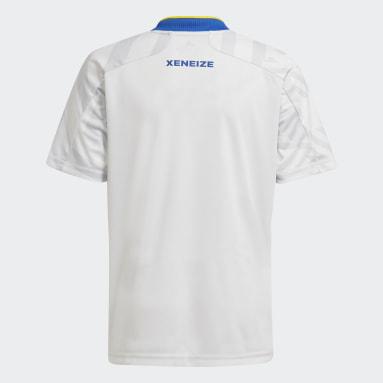 Camiseta Visitante Boca Juniors 21/22 Gris Niño Fútbol