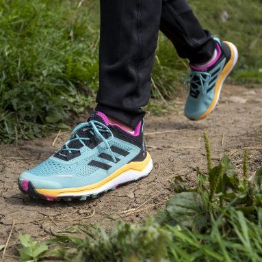 Kinderen TERREX Groen Terrex Agravic Flow Primegreen Trail Running Schoenen
