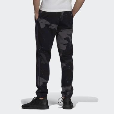 Muži Originals modrá Sportovní kalhoty Graphics Camo