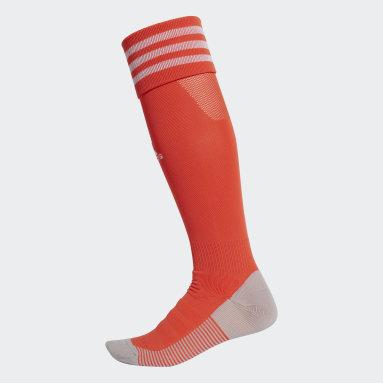 Calcetines AdiSocks con largo a la rodilla (UNISEX) Rojo Fútbol