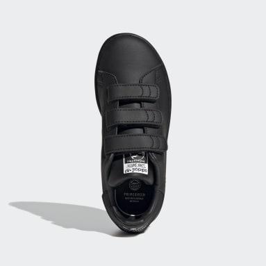 Kids 4-8 Years Originals Black Stan Smith Shoes
