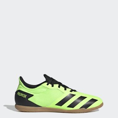 Men Football Green Predator Mutator 20.4 Indoor Sala Boots