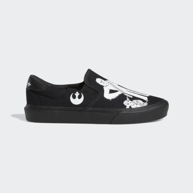 Originals Black Court Rallye Slip x Star Wars Shoes