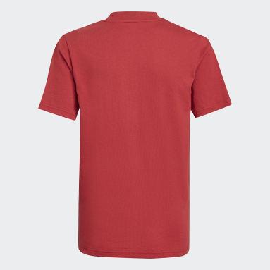 Camiseta Arsenal Tiro Burgundy Niño Fútbol