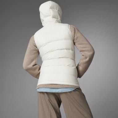 Chaleco con capucha Helionic Down Blanco Mujer Outdoor Urbano