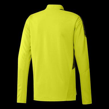 Moletom Treino Internacional Amarelo Homem Futebol