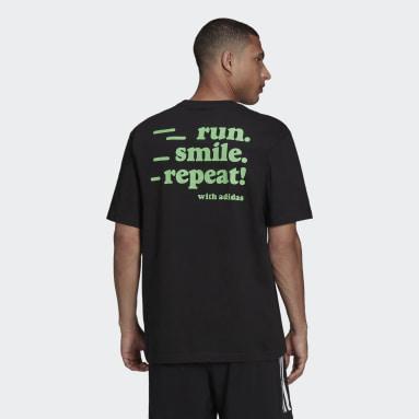 Playera Signature Negro Hombre Running
