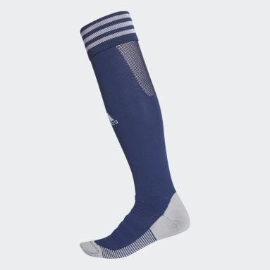 Football Blue AdiSocks Knee Socks