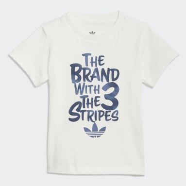 Camiseta Graphic Print Camo Blanco Niño Originals