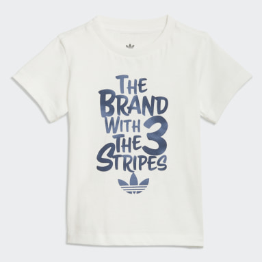 Boys Originals White Graphic Print Camo T-Shirt