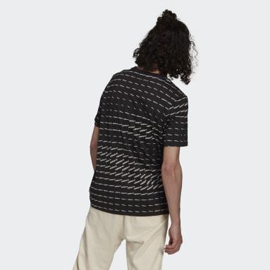 T-shirt Graphics Monogram Noir Hommes Originals