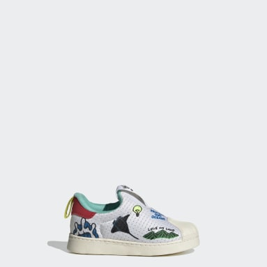 Infant & Toddler Originals White Superstar 360 Primeblue Shoes