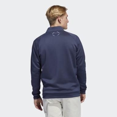 Men's Golf Grey Adicross Quarter-Zip Sweatshirt