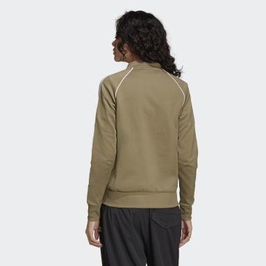 Women's Originals Green Primeblue SST Track Jacket
