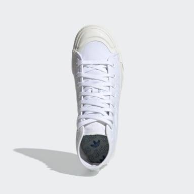 Chaussure Nizza RF Hi Blanc Originals