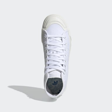 Scarpe Nizza RF Hi Bianco Originals