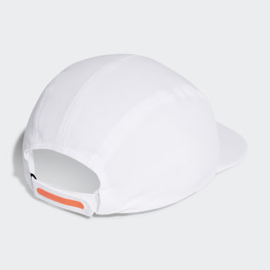 Volleyball White AEROREADY Running Training Cycling Four-Panel Cap