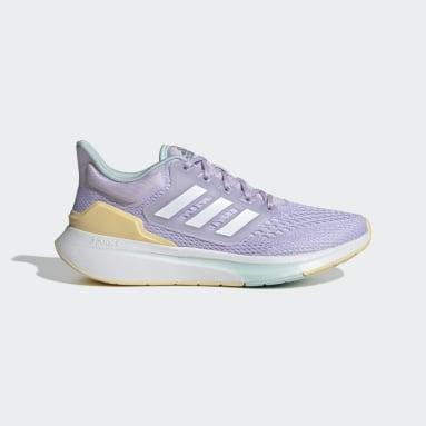 Women's Running Purple EQ21 Run Shoes