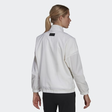 Frauen Sportswear AU WVN TOP W Weiß