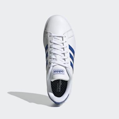 Zapatillas Grand Court Blanco Hombre Diseño Deportivo