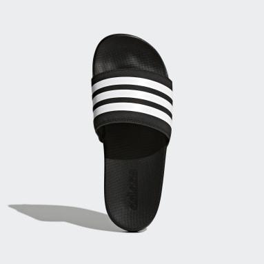 Women's Essentials Black Adilette Comfort Slides
