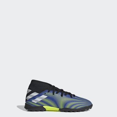 Kids Football Blue Nemeziz.3 Turf Boots