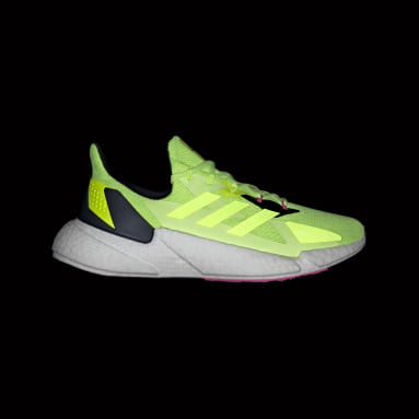 Men Running Yellow X9000L4 Shoes