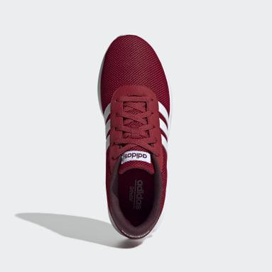 Men Sport Inspired Burgundy Lite Racer Shoes