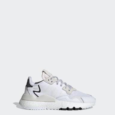 Zapatillas Nite Jogger Blanco Niño Originals