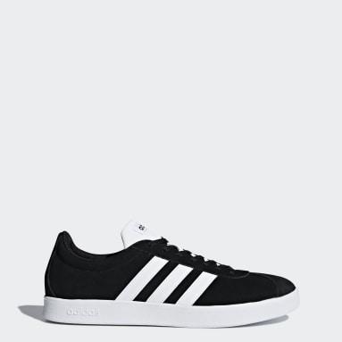 Walking Black VL Court 2.0 Shoes