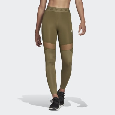 Tight lunghi Hyperglam High-Rise Verde Donna HIIT