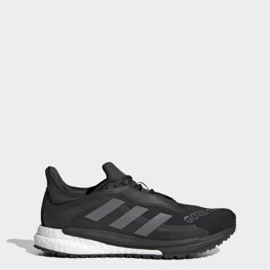 Women Running Black SolarGlide 4 GORE-TEX Shoes