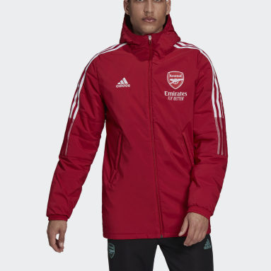 красный Зимняя куртка Арсенал