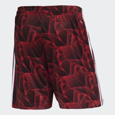 Shorts 2 CR Flamengo 21 Vermelho Homem Futebol