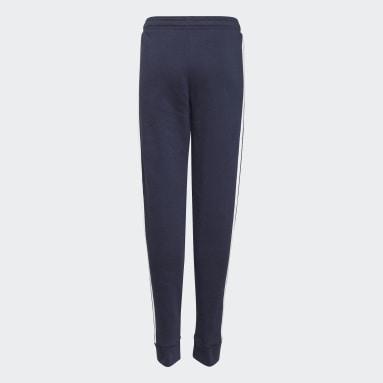 Girls Sportswear Blue adidas Essentials 3-Stripes French Terry Joggers