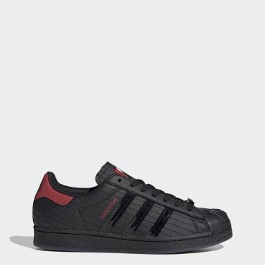 Men's Originals Black Superstar Star Wars Darth Vader Shoes