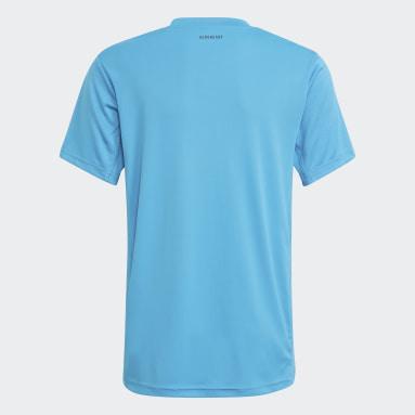 синий Футболка для тенниса Club