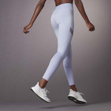 Calzas Largas Hyperglam Tiro Alto Morado Mujer Training