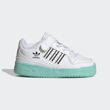 Meisjes Originals wit adidas x Kevin Lyons Forum Low Schoenen