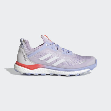 Women's TERREX Purple Terrex Agravic Flow Trail Running Shoes