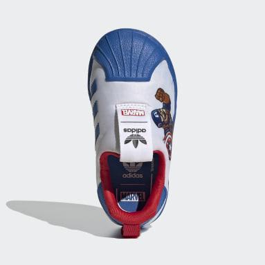 Zapatillas Superstar 360 Blanco Niño Originals