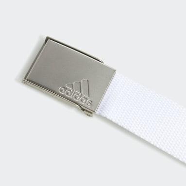 Women Golf White Web Belt