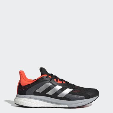 Erkek Koşu Siyah SolarGlide 4 ST Ayakkabı