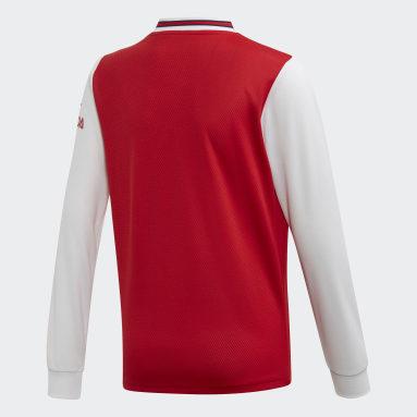 Maillot Arsenal Domicile Rouge Garçons Football